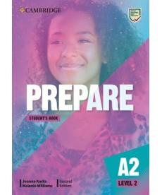 Cambridge English Prepare! 2nd Edition Level 2 SB including Companion for Ukraine