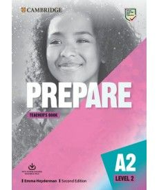 Cambridge English Prepare! 2nd Edition Level 2 TB with Downloadable Resource Pack
