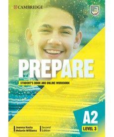 Cambridge English Prepare! 2nd Edition Level 3 SB with Online WB including Companion for Ukraine