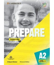Cambridge English Prepare! 2nd Edition Level 3 TB with Downloadable Resource Pack