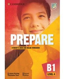 Cambridge English Prepare! 2nd Edition Level 4 SB with Online WB including Companion for Ukraine
