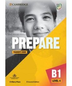 Cambridge English Prepare! 2nd Edition Level 4 TB with Downloadable Resource Pack