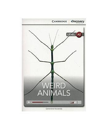 CDIR A2 Weird Animals (Book with Online Access)