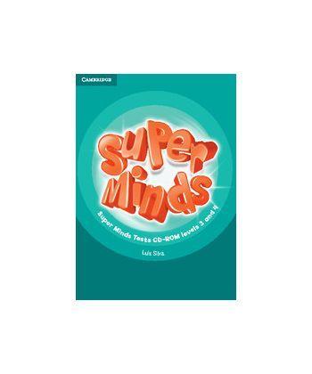 Super Minds 3-4 Tests CD-ROM