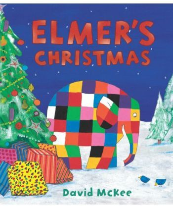 Elmer's Christmas: Mini Hardback
