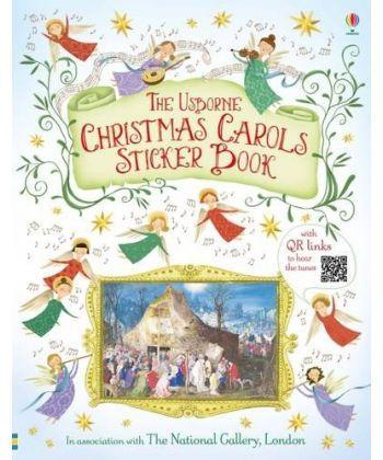 Christmas Carols. Sticker Book  - Фото 1