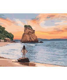 Картина по номерам Необитаемый остров   40*50 см (KHO4727)