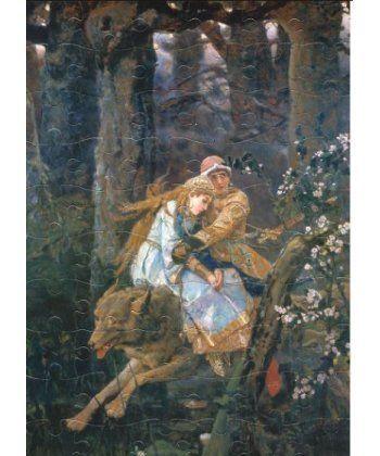 Иван-царевич на сером волке (Худ. Васнецов В.)