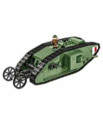 Конструктор COBI Танк Марк 1, 605 деталей