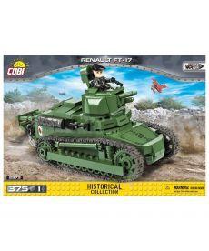 Конструктор COBI Танк Рено ФТ-17, 375 деталей