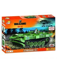 Конструктор COBI World Of Tanks Stridsvagn 103 (Strv. 103), 515 деталей