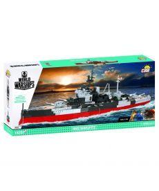 Конструктор COBI World Of Warships Корабль Его Величества Линкор «Уорспайт», 1400 деталей