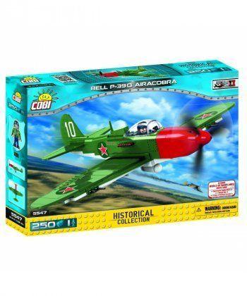 Конструктор COBI Самолет BELL P-39Q Аэрокобра, 250 деталей