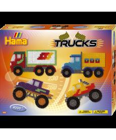 Большой набор Машины та грузовики Midi 5+