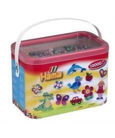 Настольная игра Набор цветных бусин MIDI 5+, 10000шт в коробке, 10 цветов