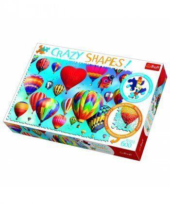 Пазл Trefl Цветные воздушные шары, 600 элементов