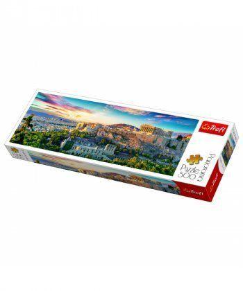 Пазл Trefl Акрополь, Афины, 500 элементов панорамный
