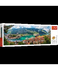 Пазл Trefl Котор, Черногория, 500 элементов панорамный