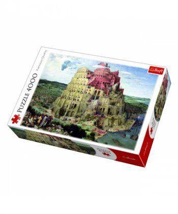 Пазл Trefl Вавилонская башня, 4000 элементов