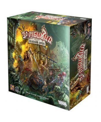 Настольная игра Зомбицид: Зелёная орда