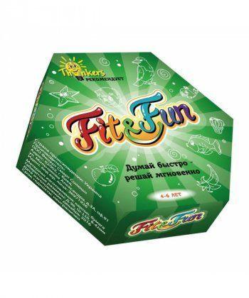 Настольная игра Fit and Fun 4-6 років російською мовою