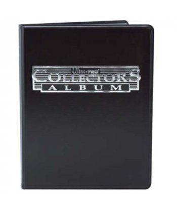 Настольная игра АЛЬБОМ Ultra-Pro (для листов 2,5х3,5 (4 кармашка на листе): черный
