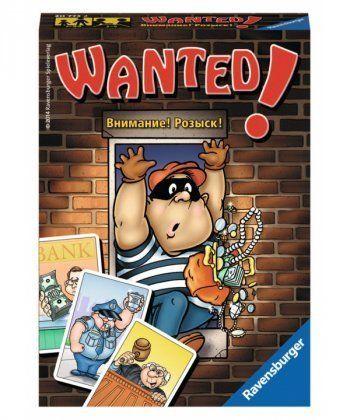 Настольная игра Внимание! Розыск! (Wanted!)