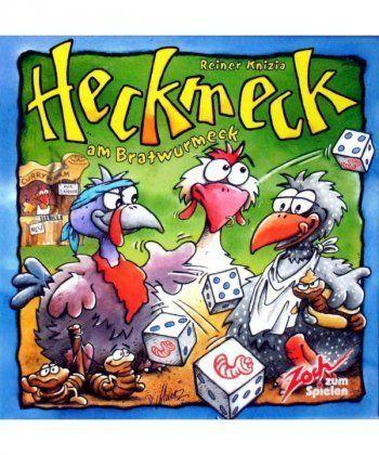 Настольная игра Хекмек или как заморить червячка (Heckmeck am Bratwurmeck)