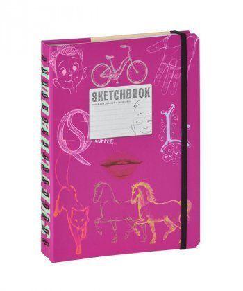 SketchBook [2] (малиновый переплет)